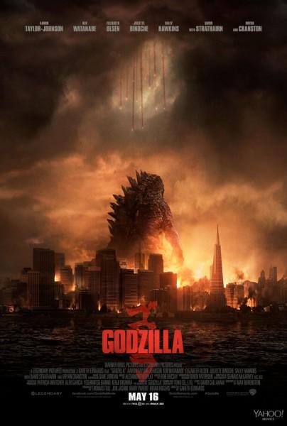 godzilla-poster city in destruction