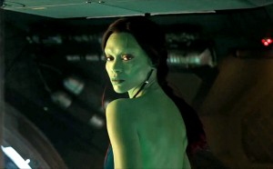 guardians-of-the-galaxy Zoe Saldana as Gamora