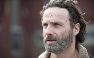 Andrew Lincoln the Walking Dead season 4 finale photo