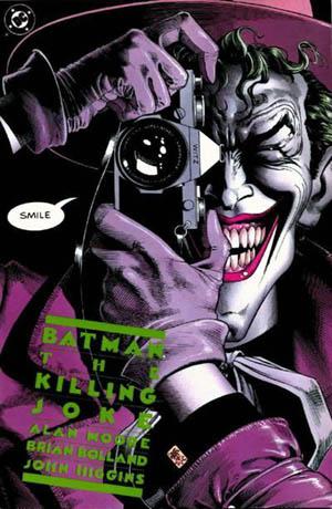 Batman The Killing Joke Alan Moore comic book Joker