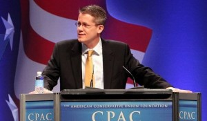 Dr Mike Adams speaking at CPAC facebook photo