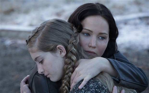 Hunger-Games-Catching Fire Jennifer Lawrence Willow Shields