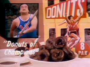 John Belushi SNL Little Chocolate Donuts skit