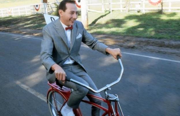 Pee wee Herman riding bike big adventure