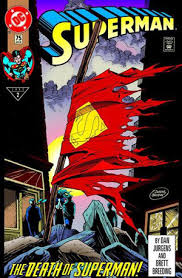 Superman 75 Death issue
