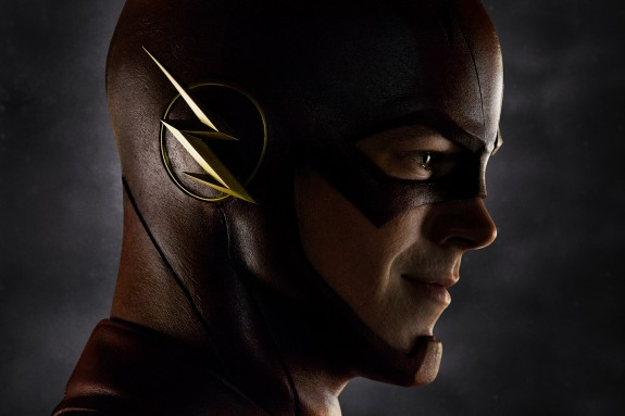 THE-FLASH-First-Image Grant Gustin in costume
