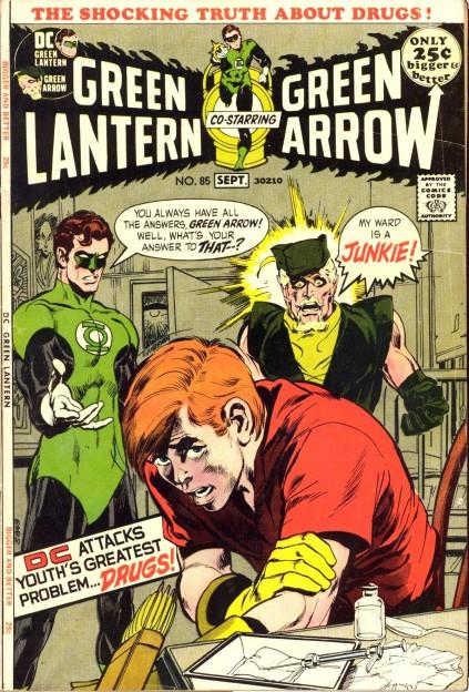 green-lantern-green-arrow-85-drug-issue-speedy-junkie