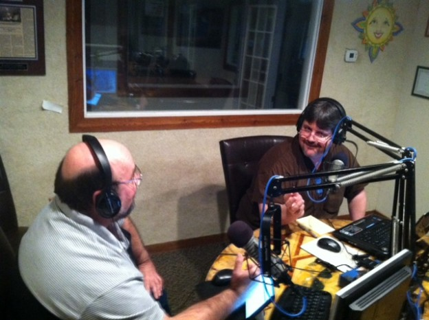 Coston and Herriman in studio 3-29-14