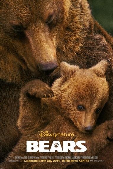 Bears movie poster 2014 Disneynature