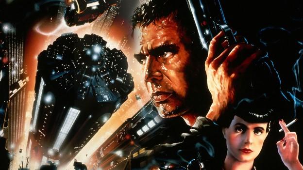 Blade Runner poster art Harrison Ford