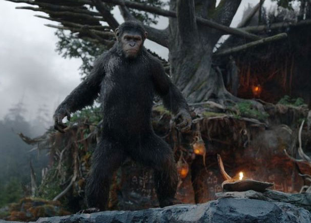 Caesar Andy Serkis Dawn of the Planet of the Apes photo