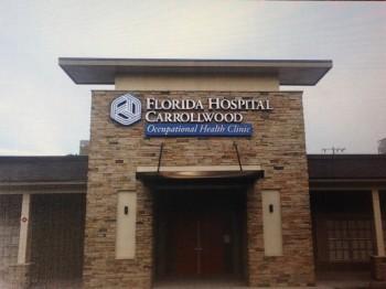 Florida Hospital Carrollwood front entry photo