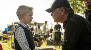 Heaven-Is-for-Real-set photo-Randall-Wallace-Connor-Corum