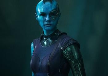 Karen Gillan as Nebula Guardians of the Galaxy