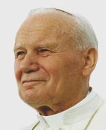 Pope John Paul II, 1993 photo public domain
