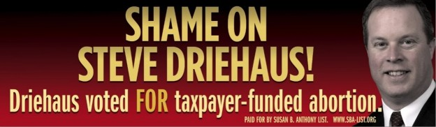 Shame on Steve Driehaus billboard free speech Supreme Court