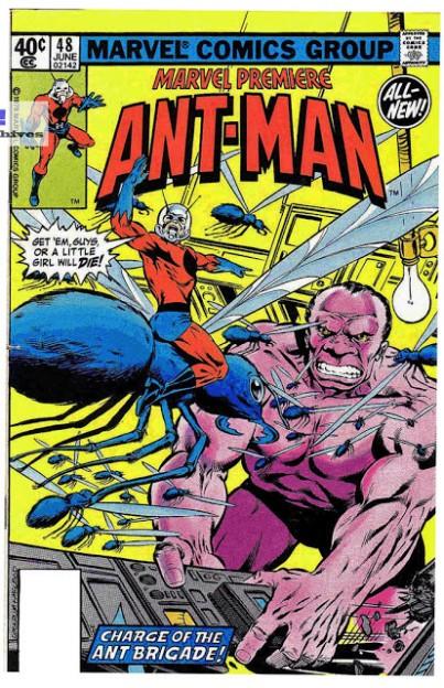 ant_man_marvel_premier_48_dave_cockrum_1979_marvel_comics_original_comic_art_cover_prelim_sketch