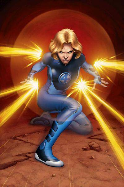 invisible_woman ultimate fantastic four photo