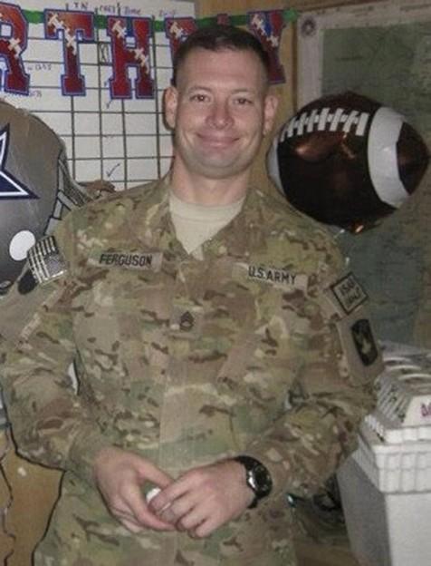 Sgt. Daniel Ferguson, photo supplied by Fort Hood public affairs