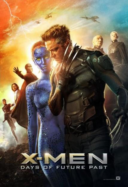 x-men-days-of-future-past-mystique-wolverine-poster cast hugh jackman