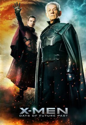 x-men-days-of-future-past- two magnetos-poster ian mckellen michael fassbender