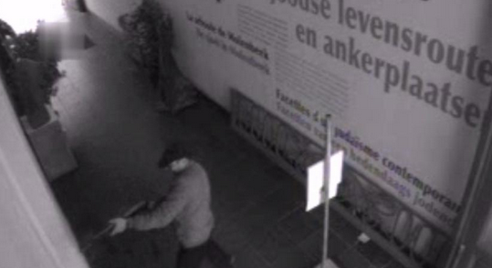 Terrorism returns to Belgium. Back in 2014, a Belgium gunman attacked a Jewish museum photo screenshot of CCTV video supplied