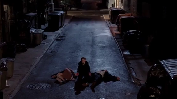 Bruce Wayne death of parents David Mazouz Gotham photo