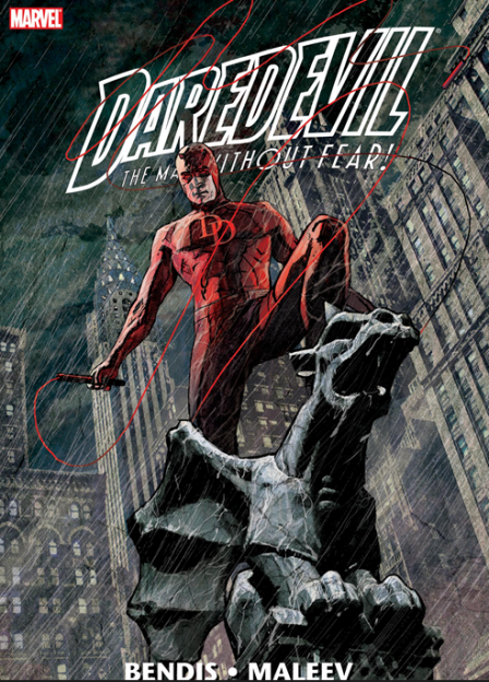 Daredevil Marvel comic book cover Bendis Maleev