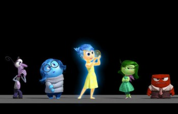 Inside Out animated emotions Pixar film 2015