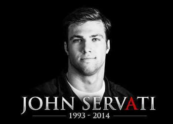 John Servati Alabama swimmer dies hero tornado