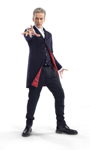 Peter Capaldi Doctor Who series 8 full costume