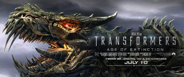 Transformers Age of Extinction banner