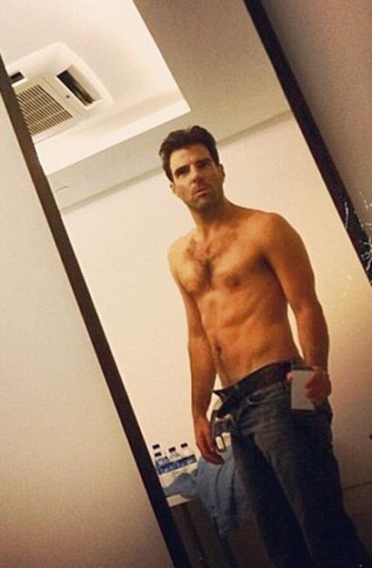 photo Zachary Quinto Instagram