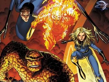 fantastic-four team banner marvel comics