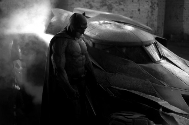 "Affleck as Batman in ""Dawn of Justice"""