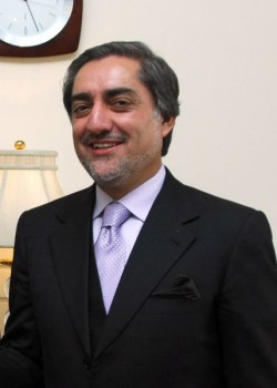 Abdullah Abdullah  2009 photo released by State Department, taken by Daniel Wilkinson