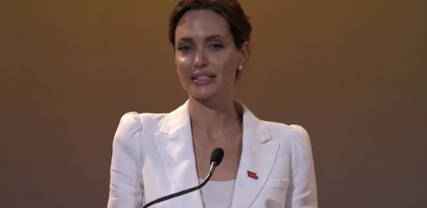 Angelina Jolie global summit to end sexual violence speech