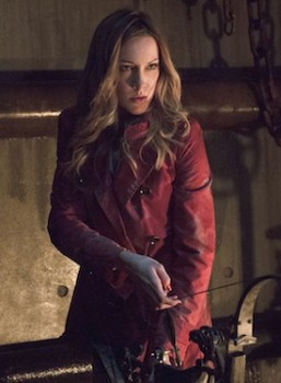 Katie Cassidy as Laurel Arrow season 2 photo