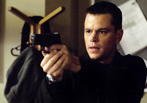 Matt Damon Jason Bourne photo