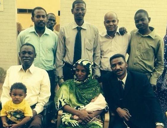 Meriam Ibrahim and family