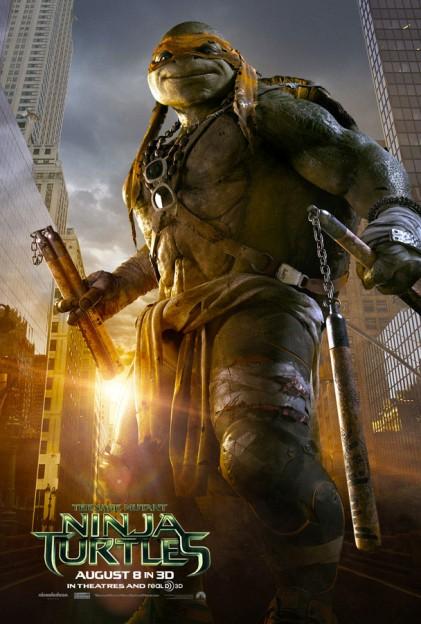Michelangelo TMNT full poster