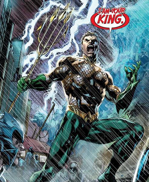 New 52 DC Comics art Aquaman photo