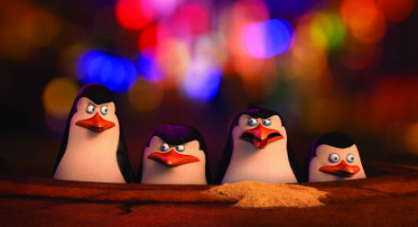 Penguins of Madagascar cast photo