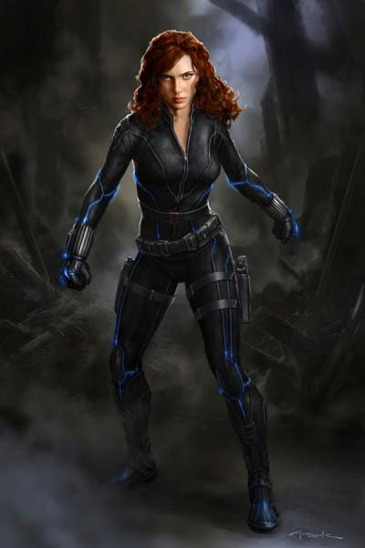avengers-age of ultron concept-art-black-widow-scarlett-johansson