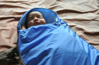 baby in warmer