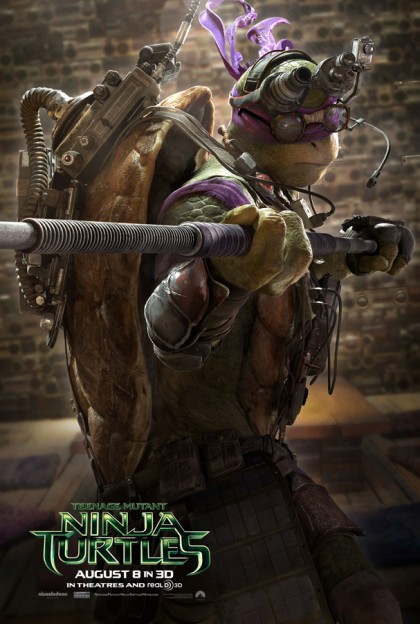 donatello_TMNT movie poster