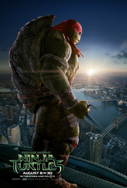 raphael_TMNT movie poster