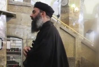 screenshot from new video may reveal Abu Bakr al-Baghdadi