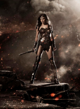 Gal Gadot Wonder Woman concept art Batman v Superman Dawn of Justice photo