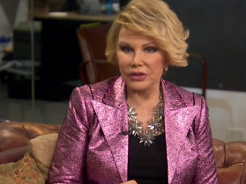 Joan Rivers Huff Po Live interview